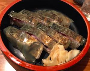 鯛の炙り寿司